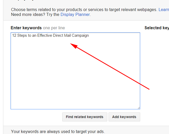 Adding Phrase target layer to the Campaigns