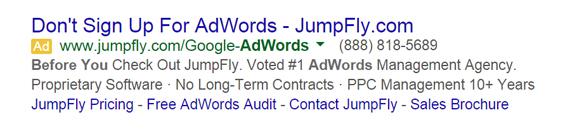 Fear Based Ad Copy