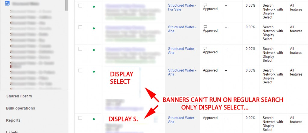 Select Ad Copy And Run Display Ads