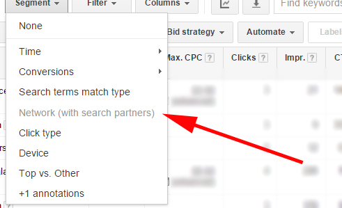 Display Select Performance in Adwords