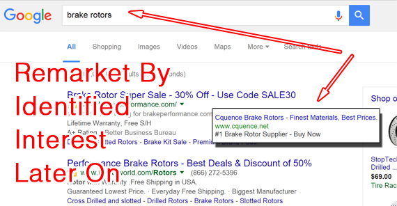 Google search Ads Brake rotors (1)