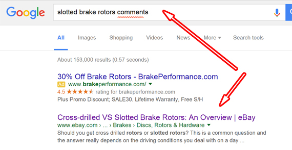 Google search Ads Brake rotors (3)