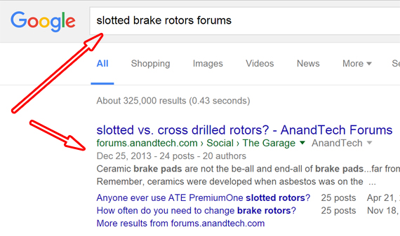 Google search Ads Brake rotors (4)