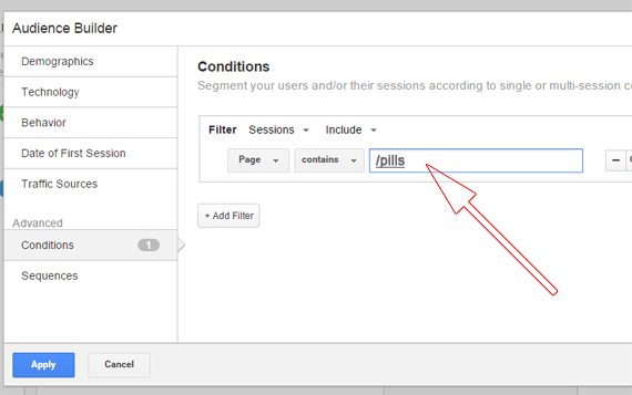 Set Up Audience in Analytics for Converted Display Traffic