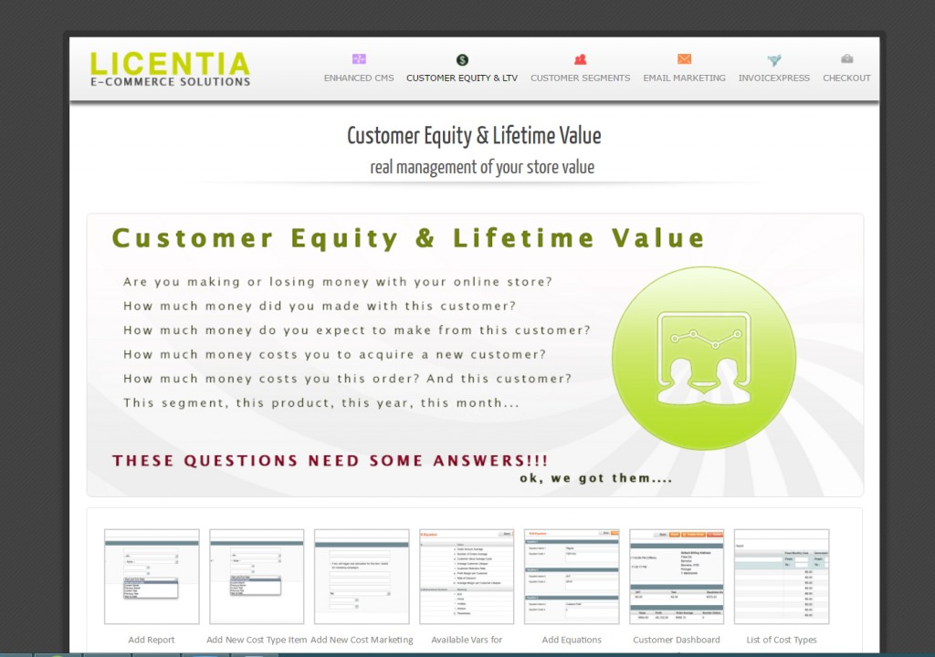 Lifetime Value Report Generator By Licentia