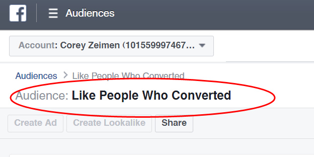 Facebook Targeting 3