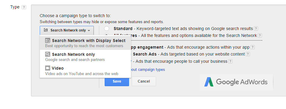 Targeting on AdWords