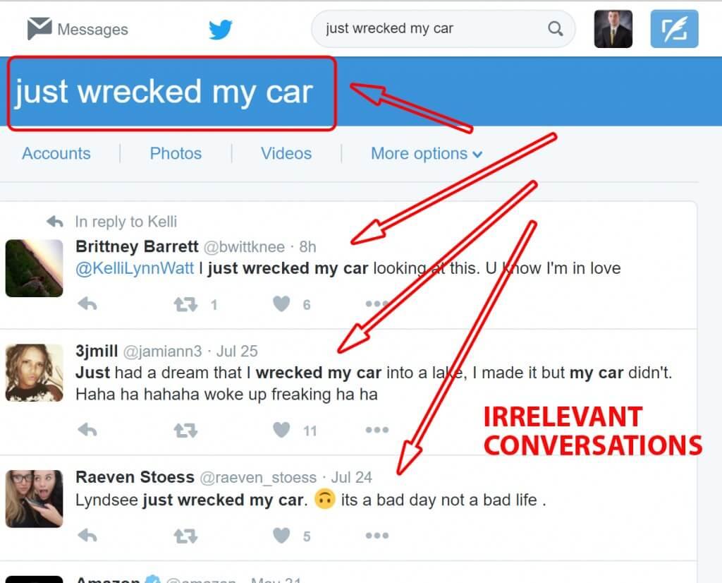 Using Keywords on Twitter (2)
