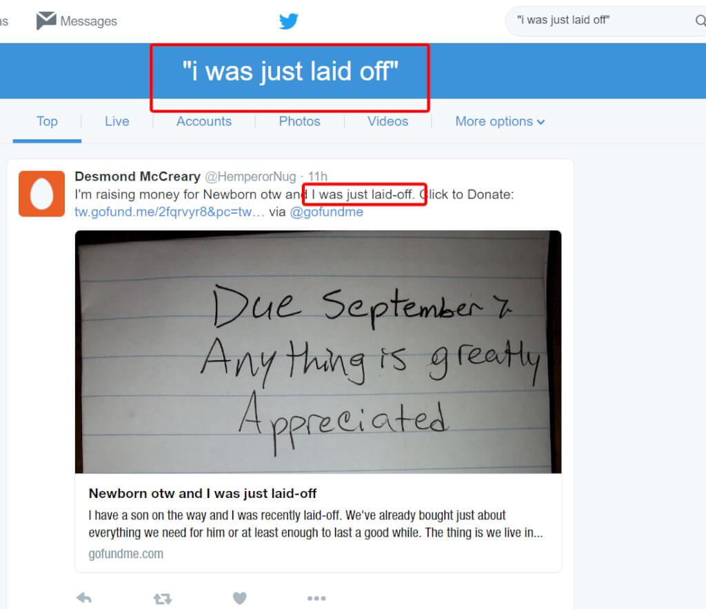 Using Keywords on Twitter (3)
