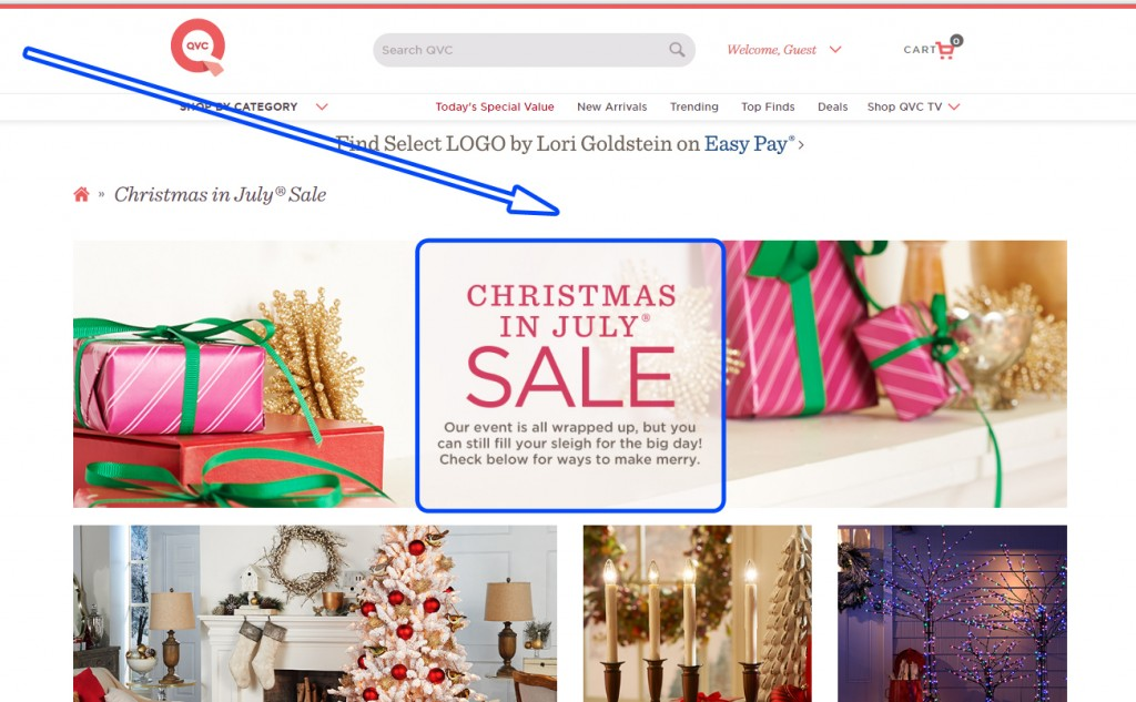Remarketing Campaign with a Discount of QVC