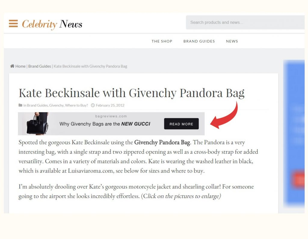 Articles about Givenchy Pandora Bags