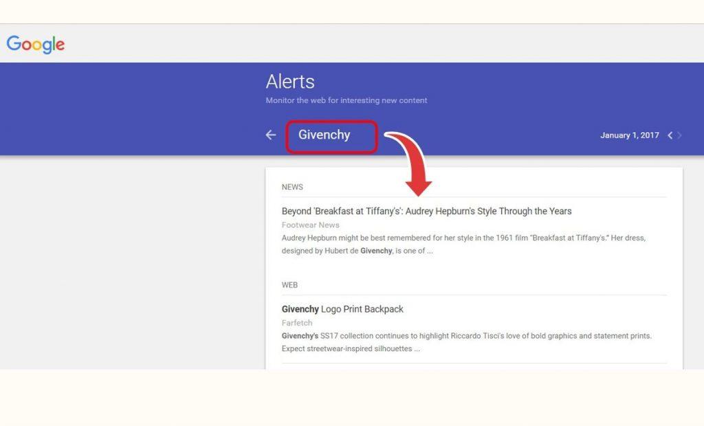 Google Alerts Interface (1)