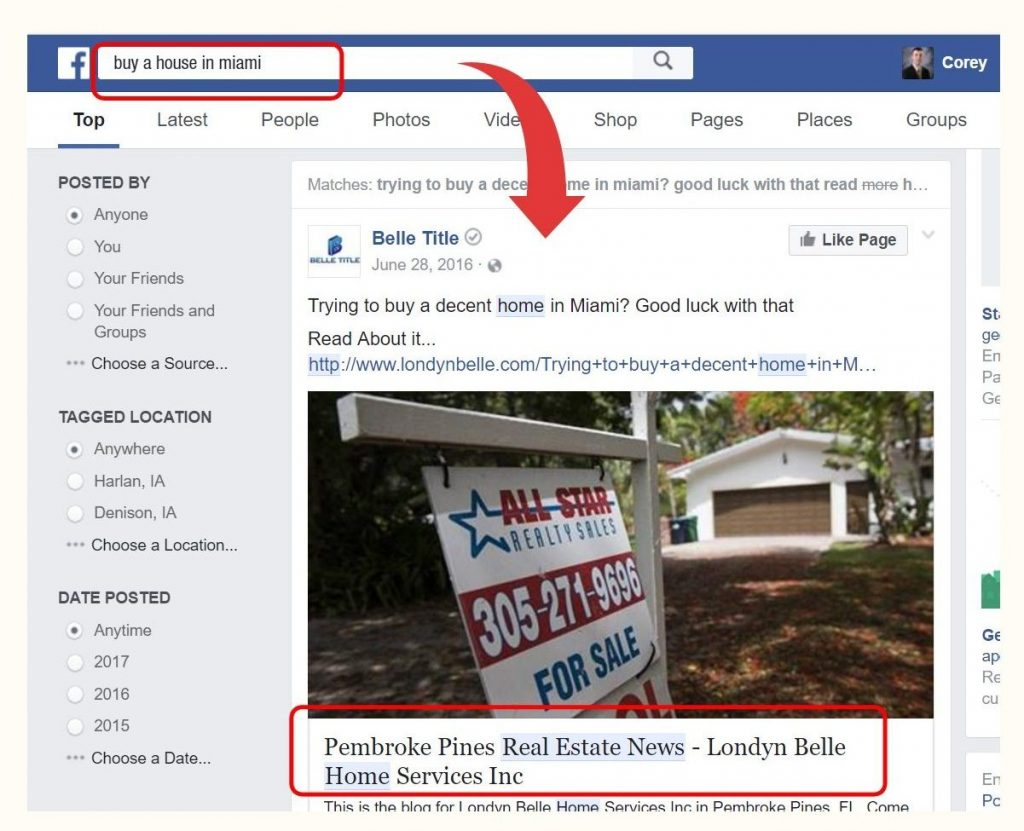 Real State News Facebook Ads
