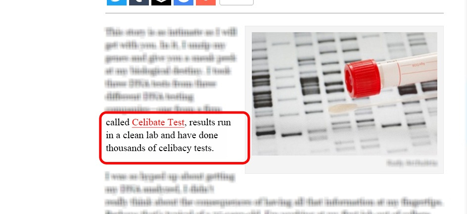 DNA testing Ads (4)