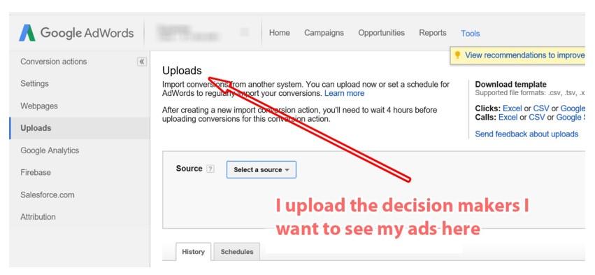 Google Adwords Upload Option (2)