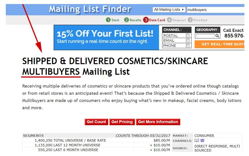 Mailing List Finder