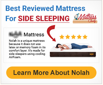 Best reviewed for side sleepers Ads