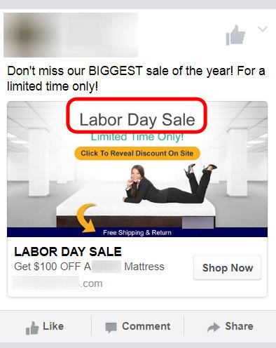 Labor Day Sale Promo