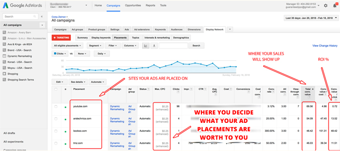 Uploading conversions from event to AdWords and Facebook accounts(3)