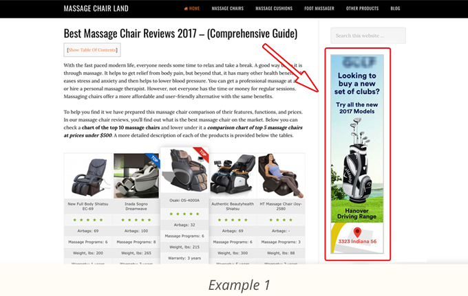 Massage Chair Review Sites(1)